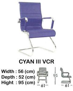 kursi director & manager indachi cyan III vcr