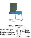 kursi director & manager indachi pivot IV vcr