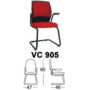 kursi hadap & rapat chairman type vc 905