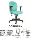 kursi staff & secretary indachi corum II n