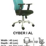 kursi-staff-secretary-indachi-cyber-I-al