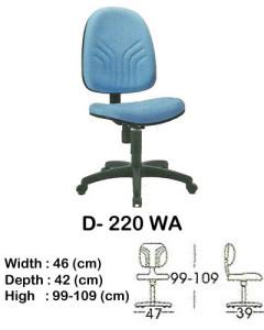 kursi staff & secretary indachi d- 220 wa