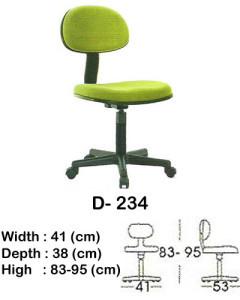 kursi staff & secretary indachi d- 234
