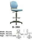 kursi staff & secretary indachi d- 260