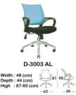 kursi staff & secretary indachi d-3003 al
