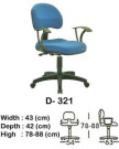 kursi staff & secretary indachi d- 321
