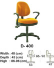 kursi staff & secretary indachi d- 400