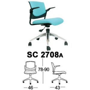 kursi staff & sekretaris chairman type sc 2708a
