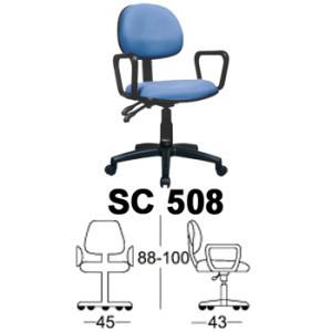 kursi staff & sekretaris chairman type sc 508