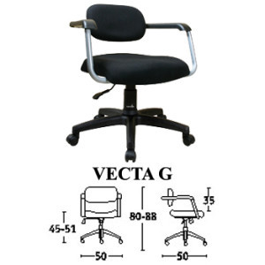 kursi staff & sekretaris savello type vecta g