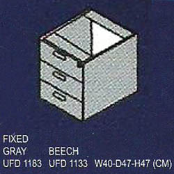 laci gantung 3 drawer uno classic series
