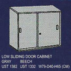 lemari arsip rendah pintu sliding uno classic series
