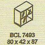 meja kantor modera bcl 7493