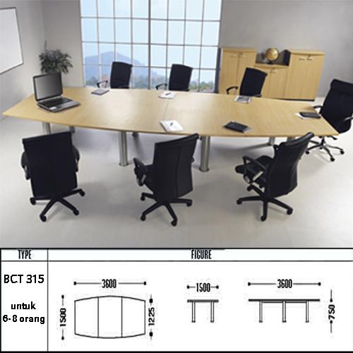 meja kantor modera bct 315