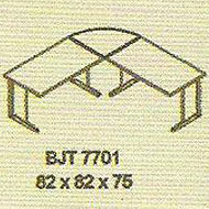 meja kantor modera bjt 7701
