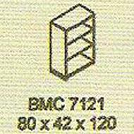 meja kantor modera bmc 7121