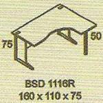 meja kantor modera bsd 1116r