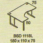 meja kantor modera bsd 1118l