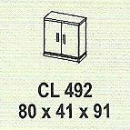 meja kantor modera cl 492