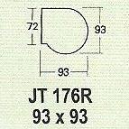 meja kantor modera jt 176r