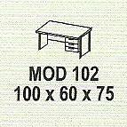 meja kantor modera mod 102