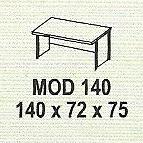 meja kantor modera mod 140
