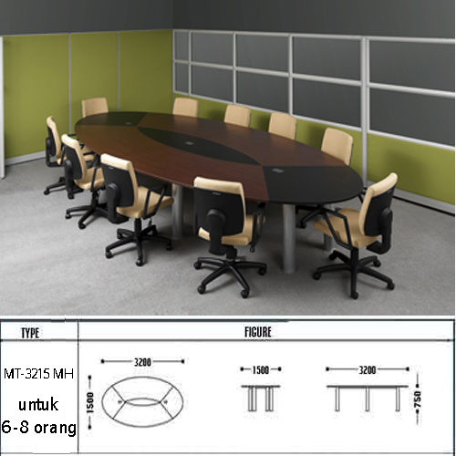 meja kantor modera mt-3215 mh