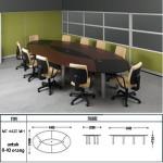 meja kantor modera mt-4420 mh