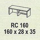 meja kantor modera rc 160