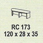 meja kantor modera rc 173