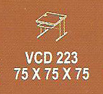 meja kantor modera vcd 223