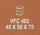 meja kantor modera vfc 402