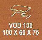 meja kantor modera vod 106
