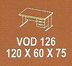 meja kantor modera vod 126