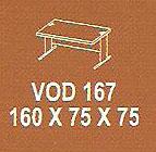 meja kantor modera vod 167