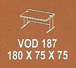 meja kantor modera vod 187