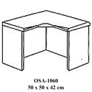 meja penyambung resepsionis osa-1060