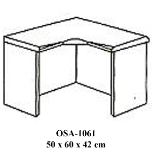meja penyambung resepsionis osa-1061