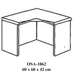 meja penyambung resepsionis osa-1062