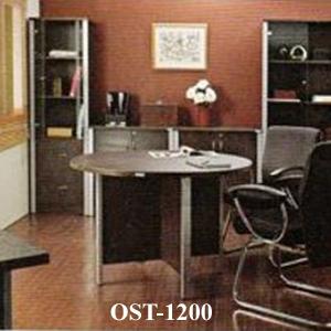 meja rapat bulat ost-1200