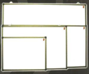 Whiteboard Daiko 120X240 Gantung