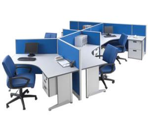 Partisi Kantor Modera 5 Series 5 Staff