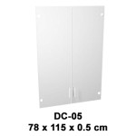 pintu kaca cabinet sedang expo dc-05
