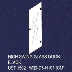 pintu kaca tinggi uno classic series