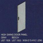 pintu panel tinggi uno classic series