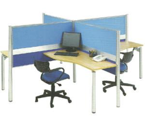 Partisi Kantor Modera 1 Series 4 Staff