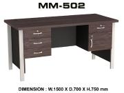 Meja Kantor VIP MM-502