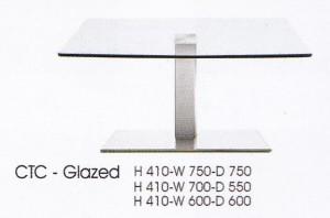 meja Bulat Indach CTC-Glazed