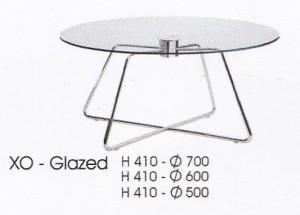 meja Bulat Indachi XO - Glazed