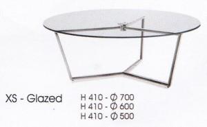 meja Bulat Indachi XS - Glazed